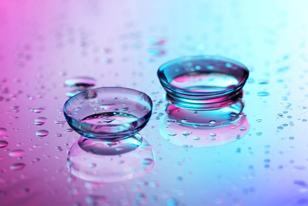 Гидрогелевые контактные линзы