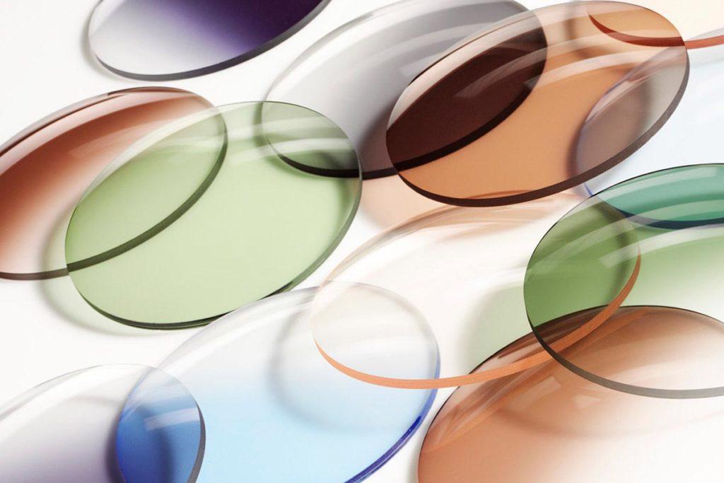 Окраска контактных линз в 11 цветов