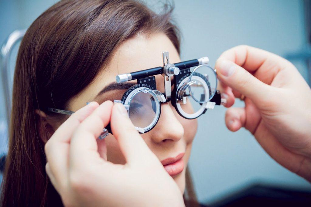 Проверка зрения на близорукость