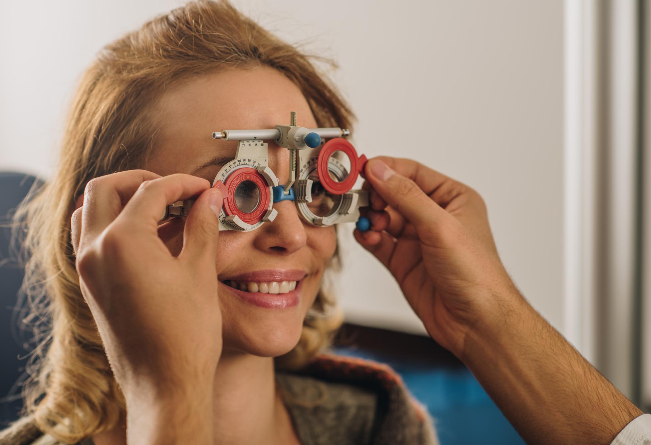 Проверка зрения на дальнозоркость