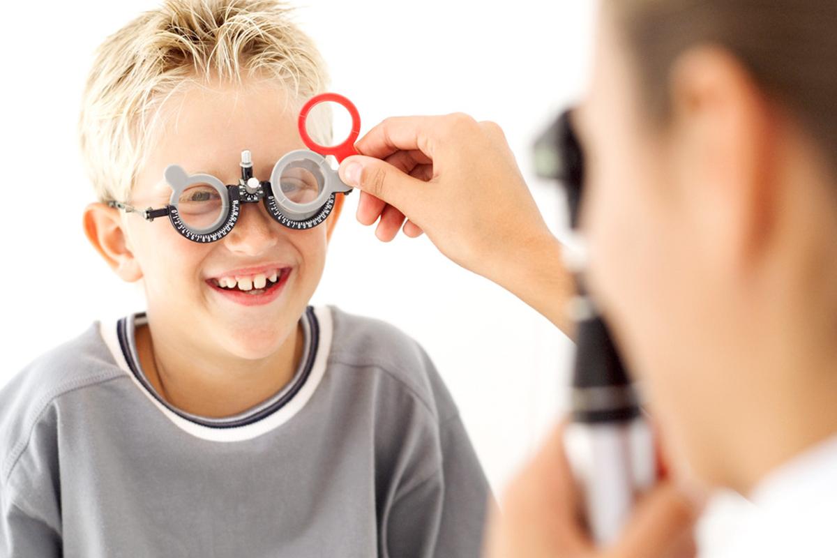 Проверка зрения у детей всех возрастов